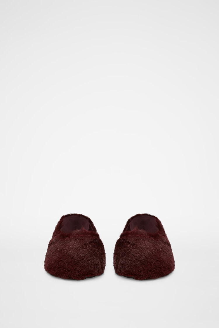 Slippers, red, large