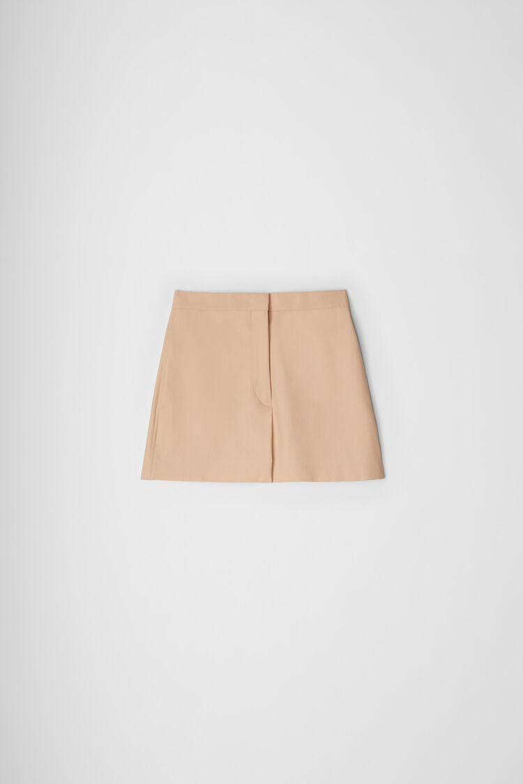 Shorts, dark beige, large