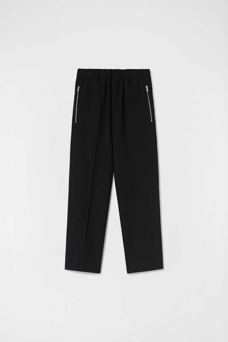 Tapered Trousers, black, large