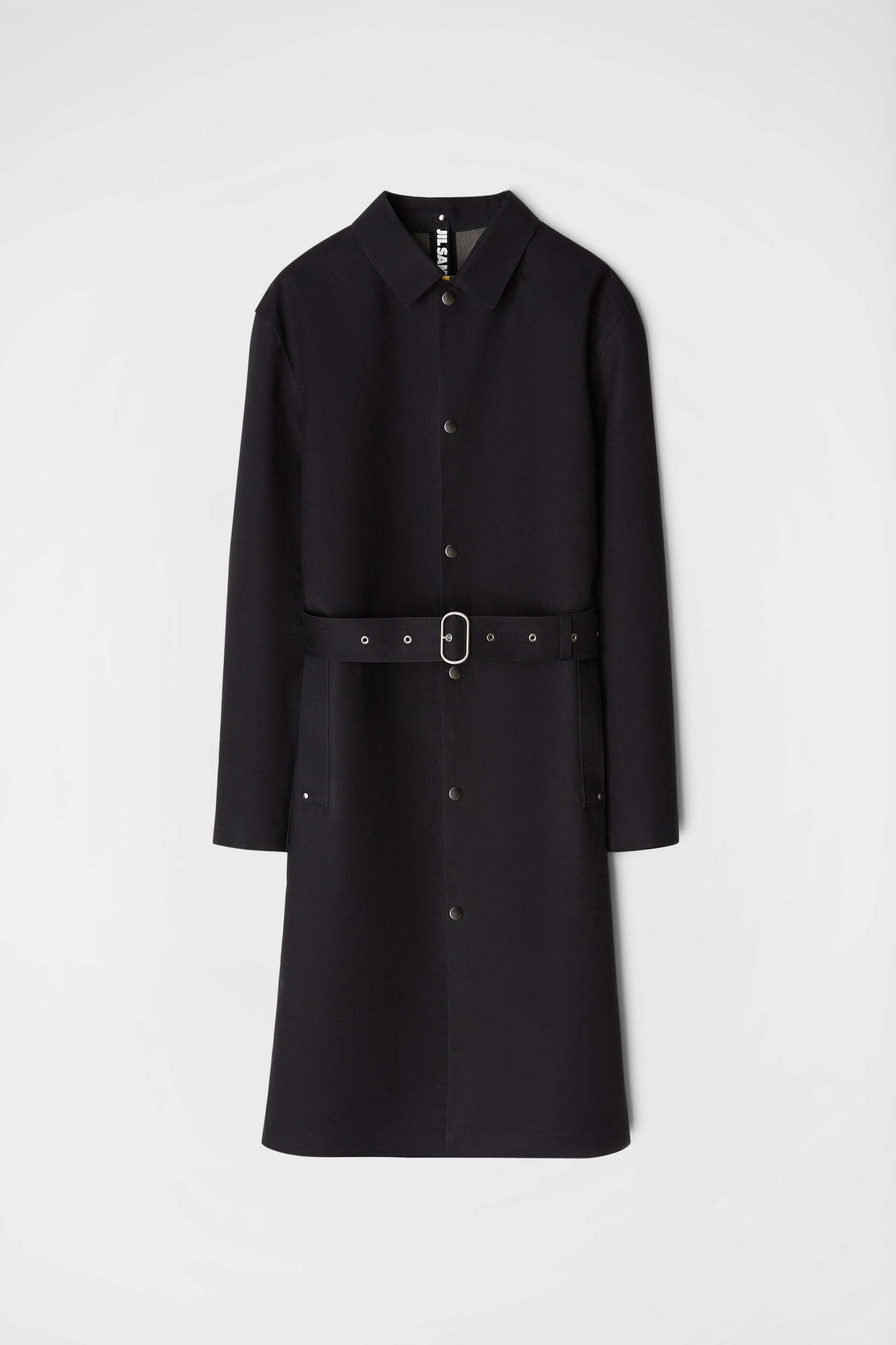 Mackintosh Trench, black, large