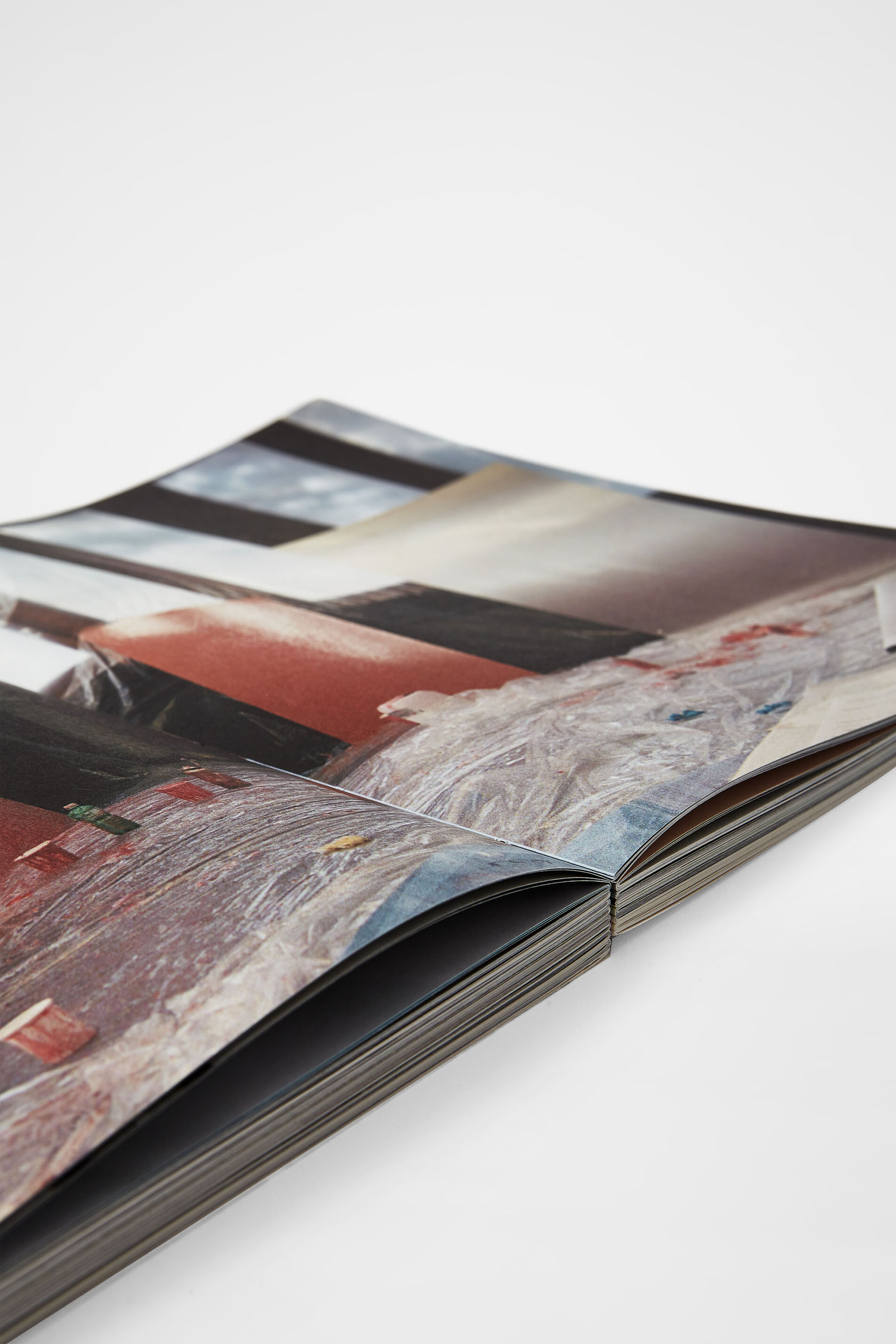 A MAGAZINE curated by Lucie and Luke Meier, multicolour, large
