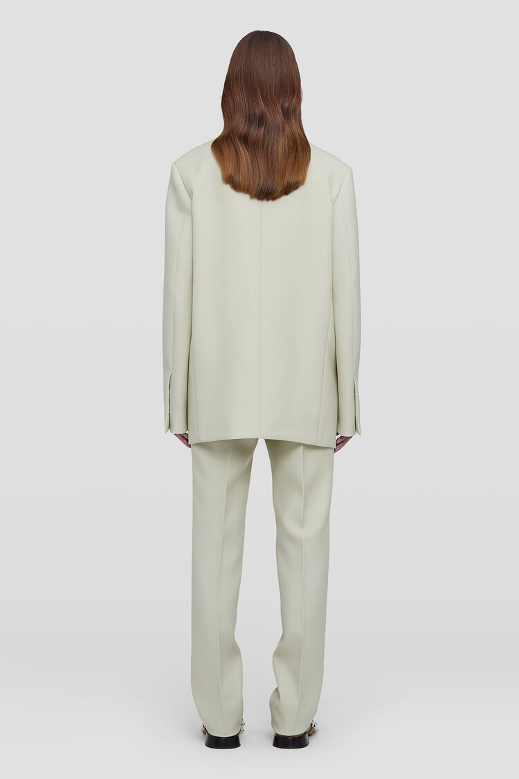 Trousers, white, large