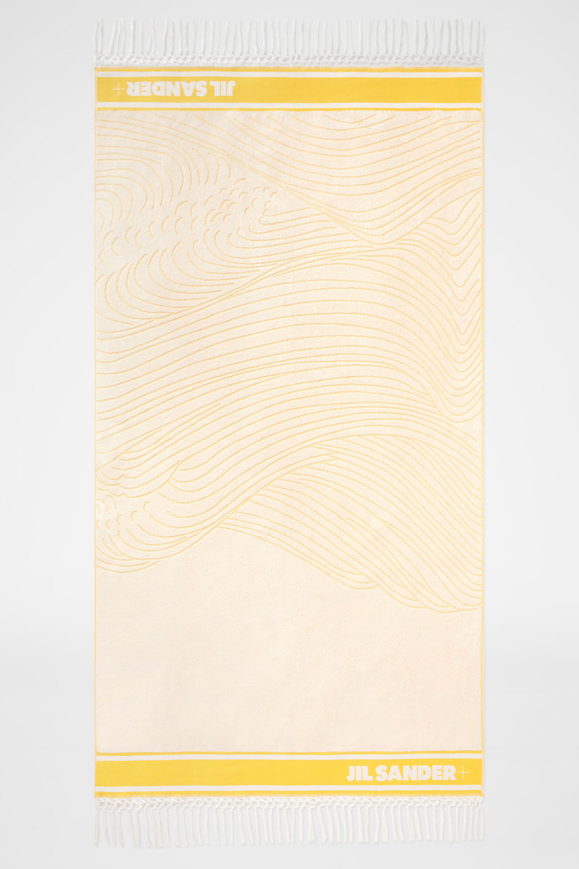 Beach Towel, yellow, large