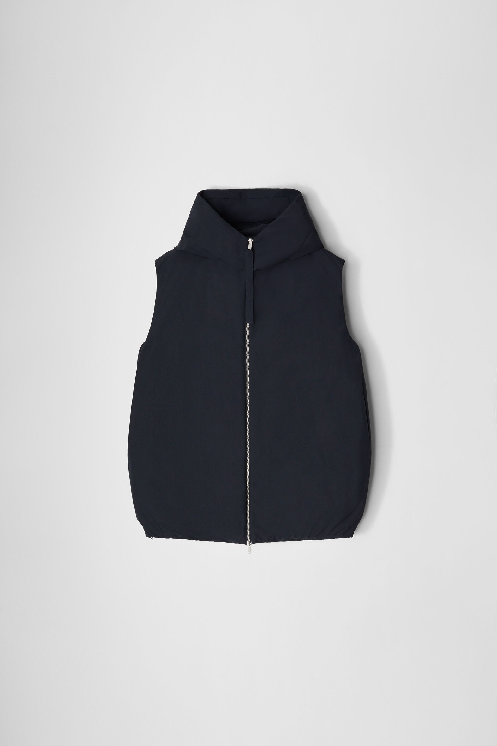 Down Gilet, dark blue, large