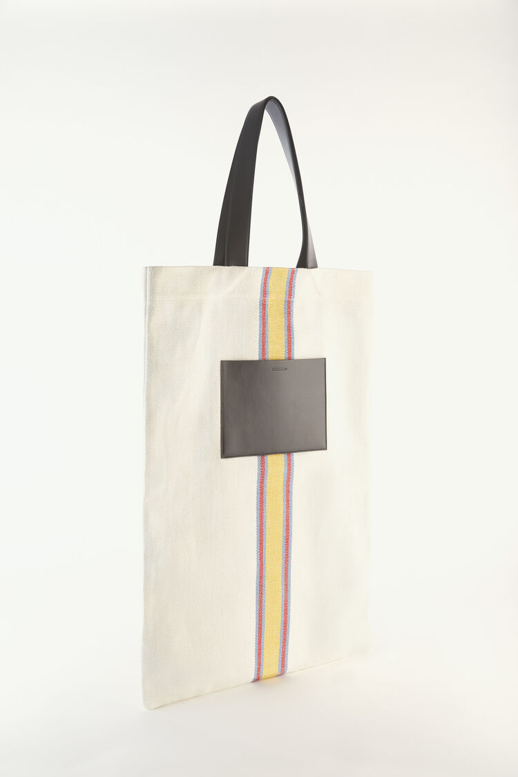 Flat Shopper Large, white, large