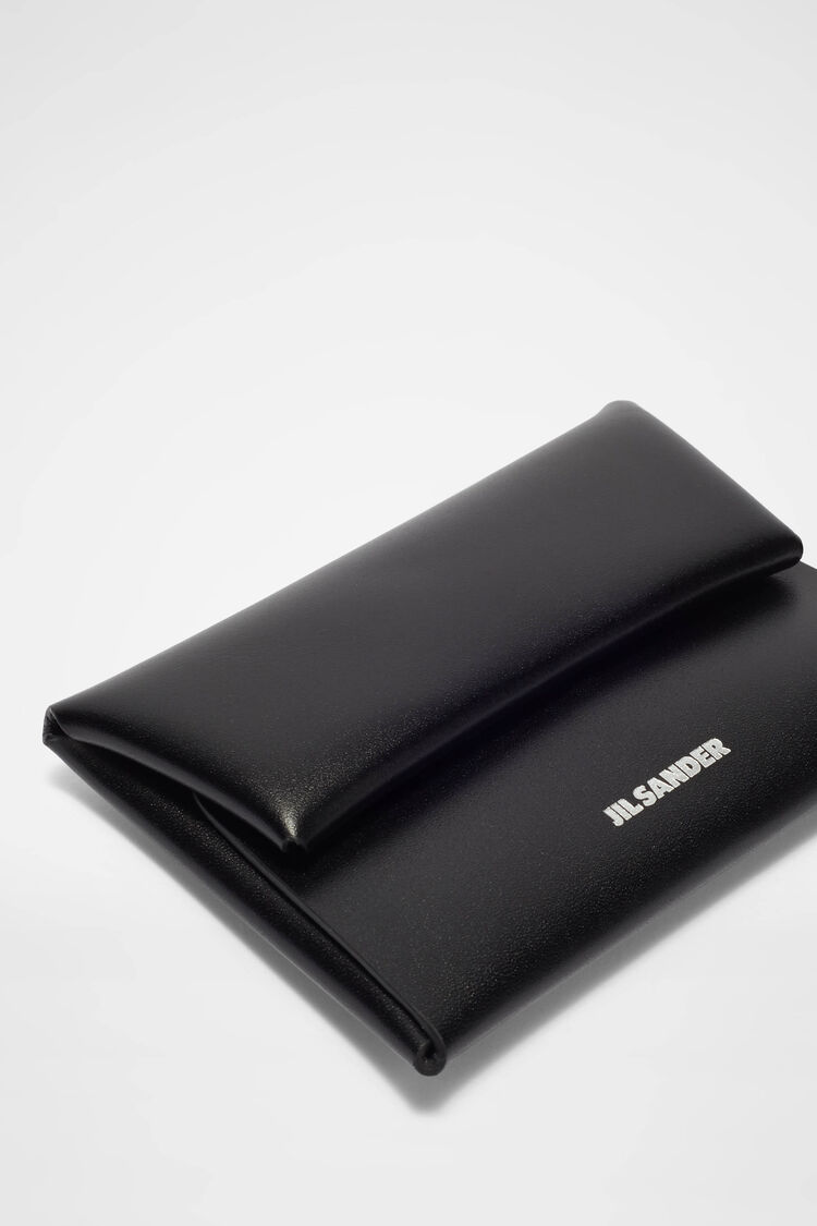 Coin Purse, black, large