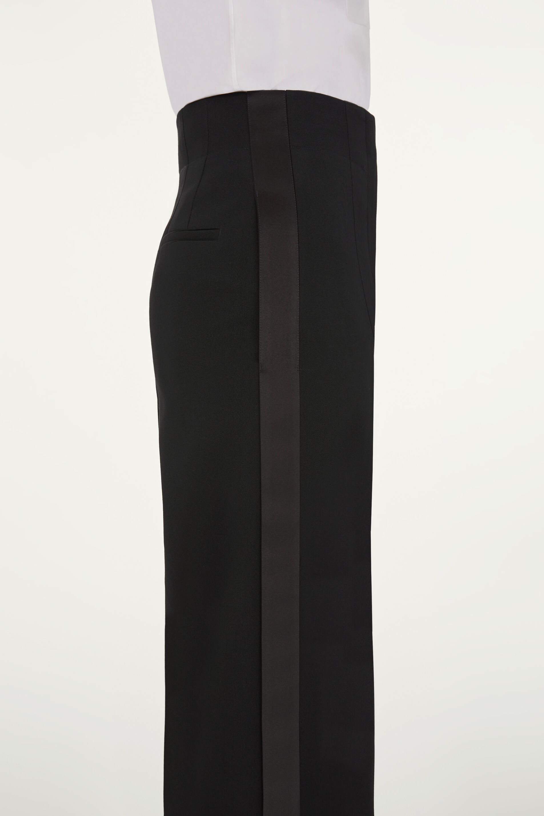 Tuxedo Trousers, black, large