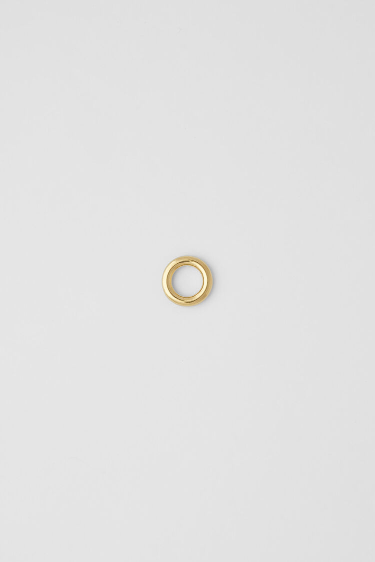 Ring, gold, large