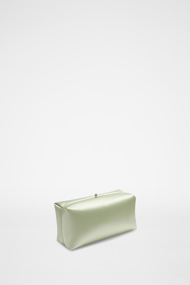Goji Clutch, pastel green, large