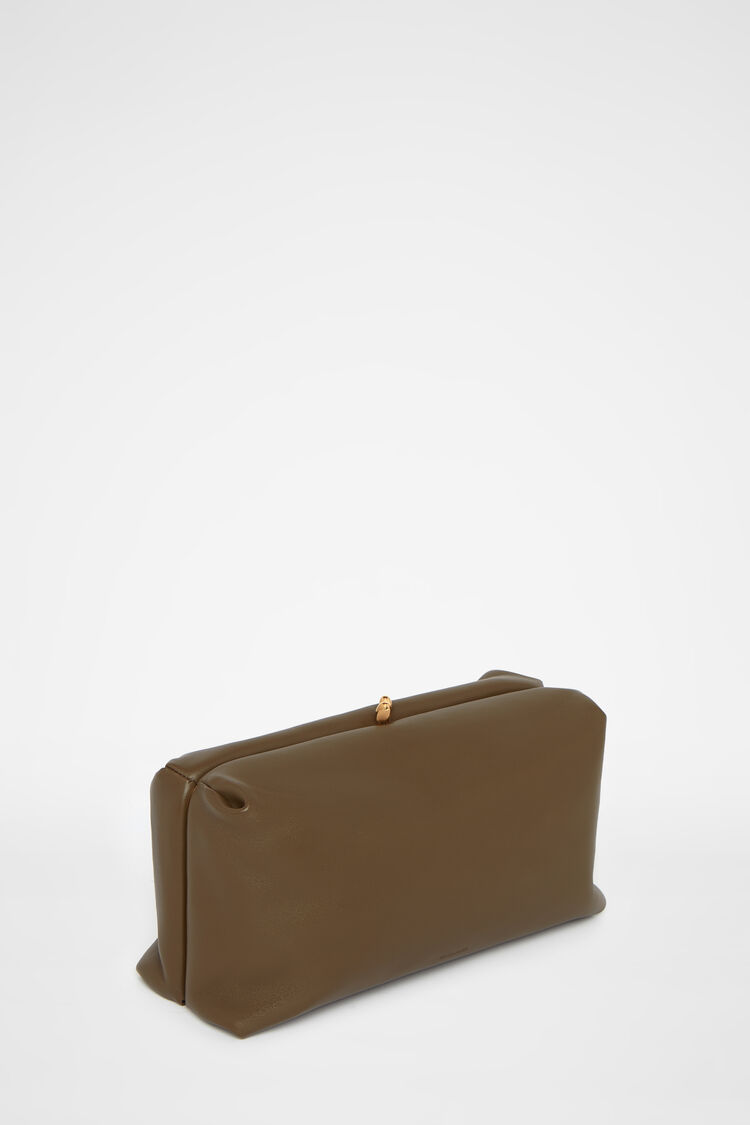 Clutch, green, large