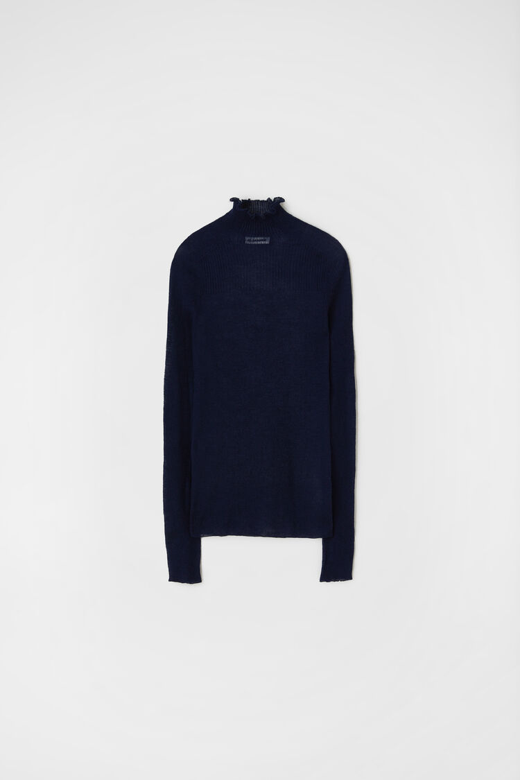 Sweater, dark blue, large