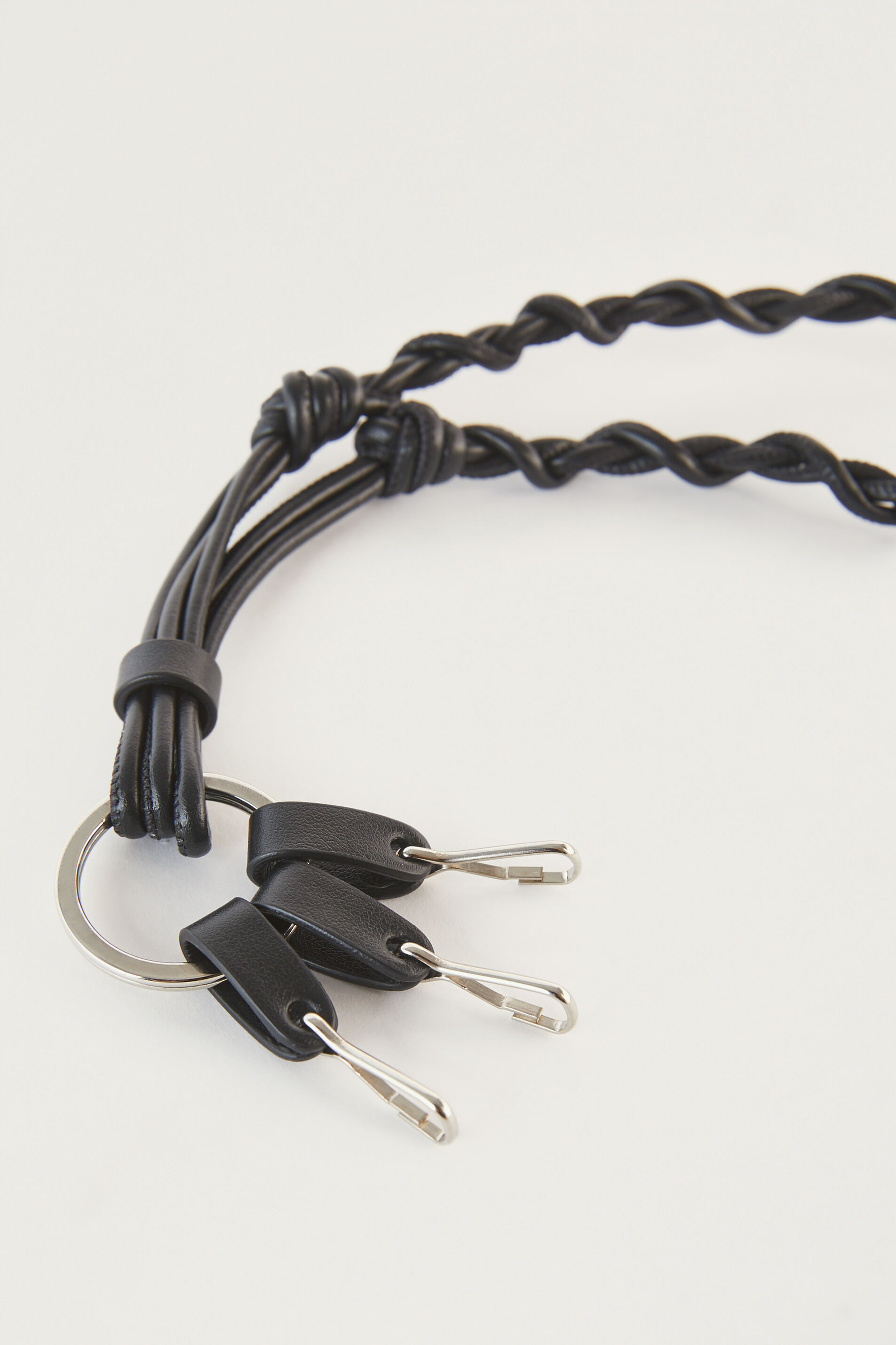 Tangle Keyring, black, large
