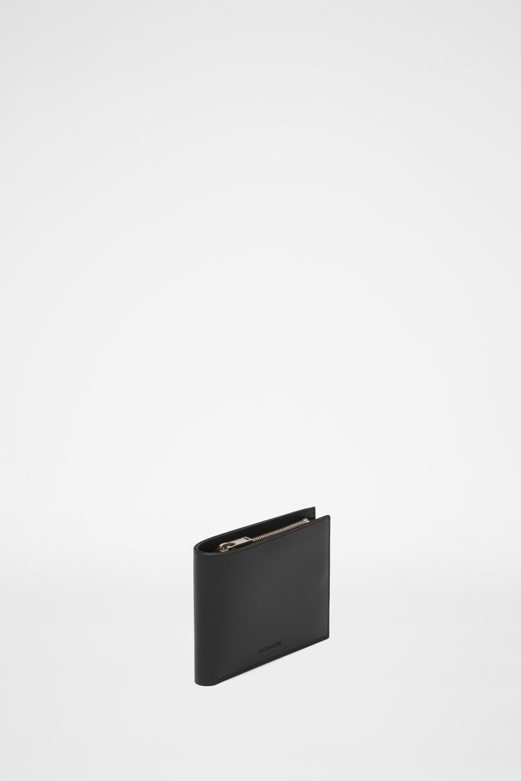 Wallet, black, large