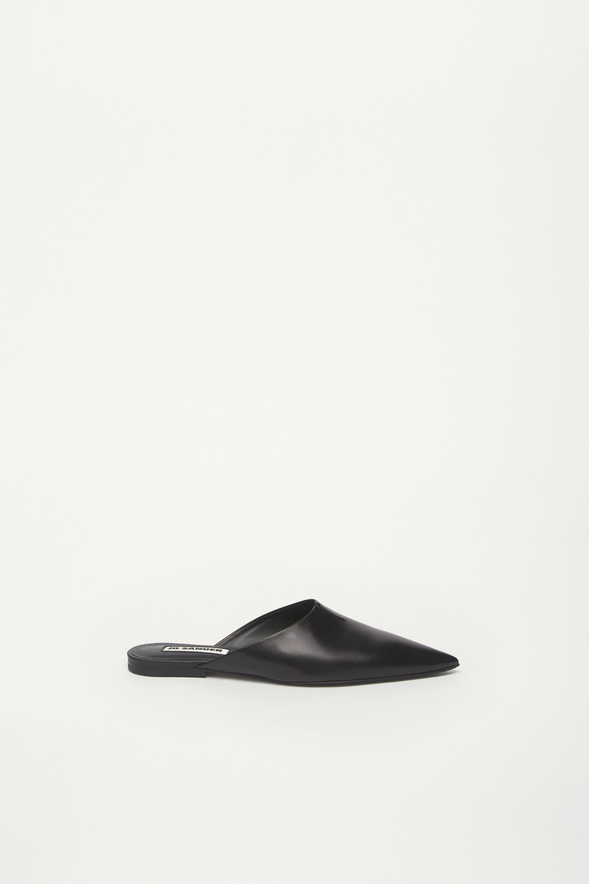 Mules, black, large