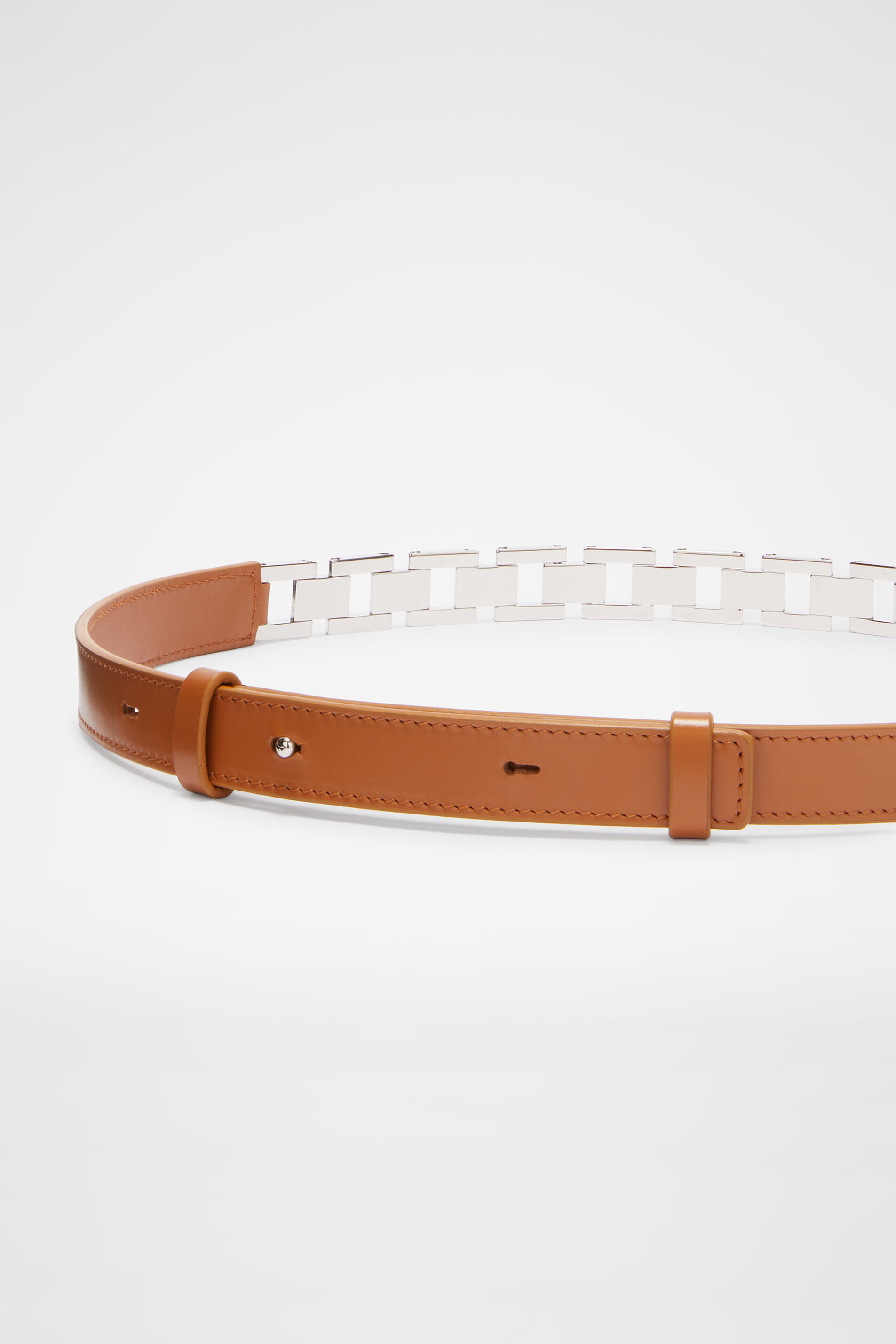 Chain Belt, brown, large