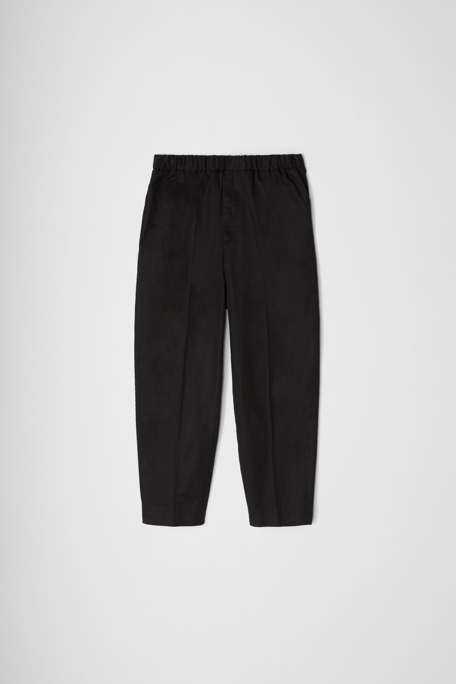 Trousers, black, large