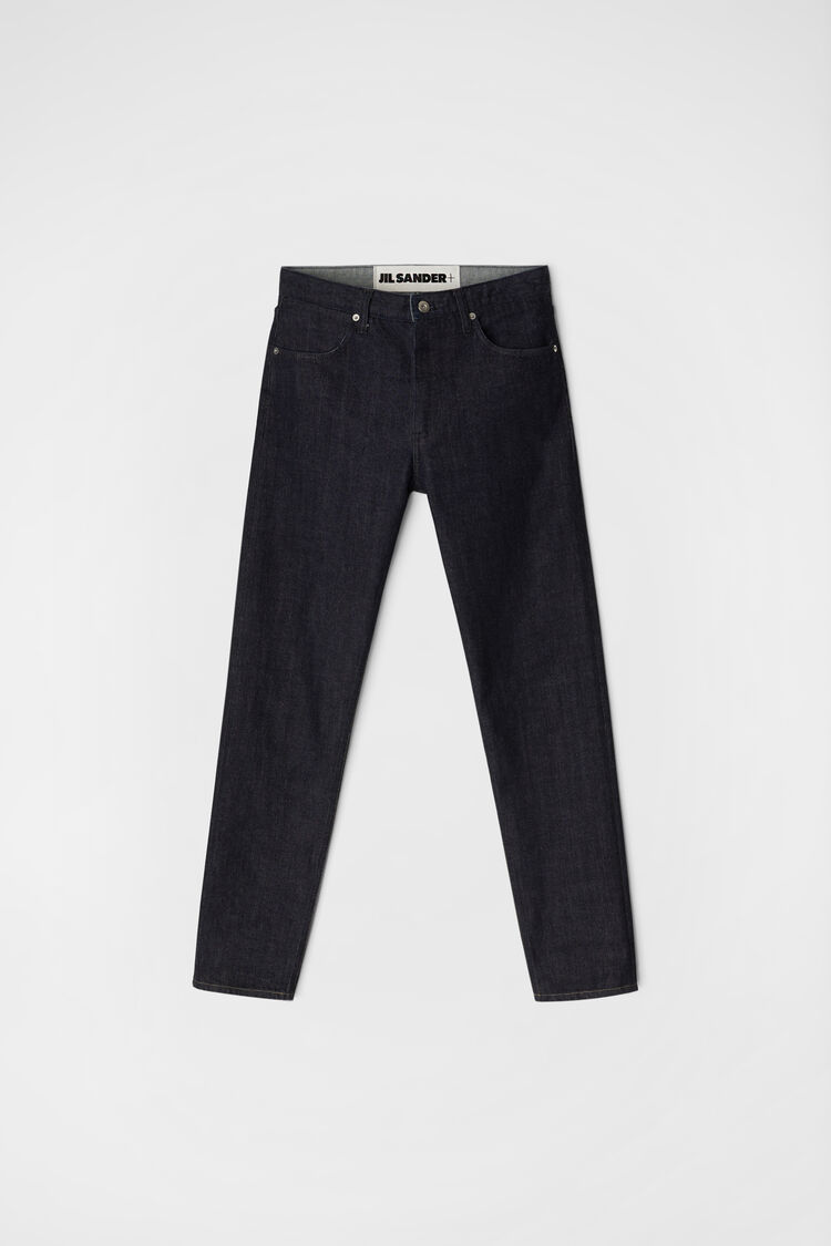 Slim Jeans, dark blue, large
