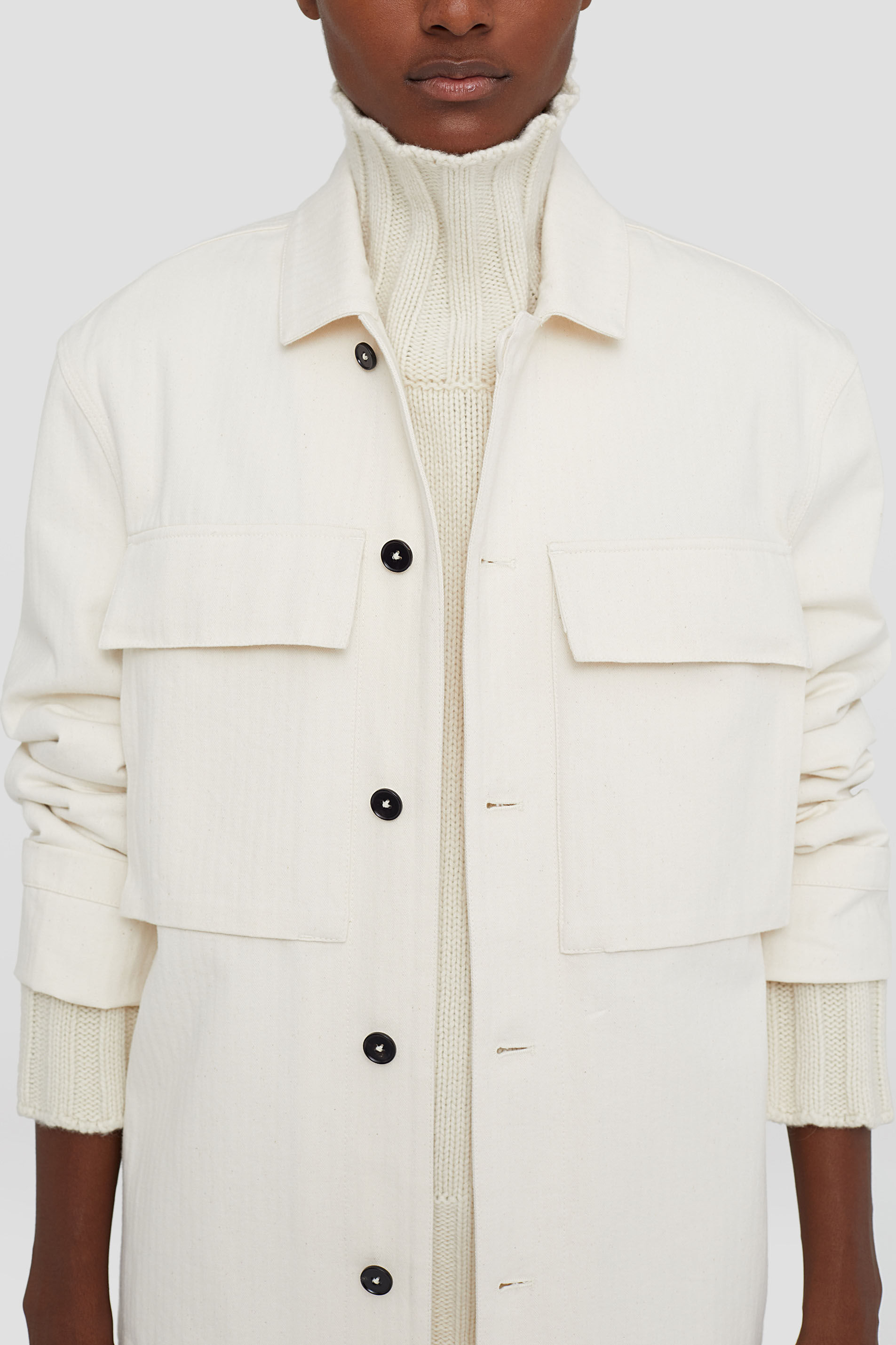 Outer Shirt, beige, large