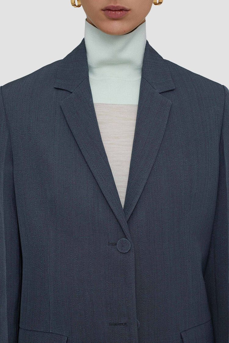 Tailored Jacket, dark grey, large