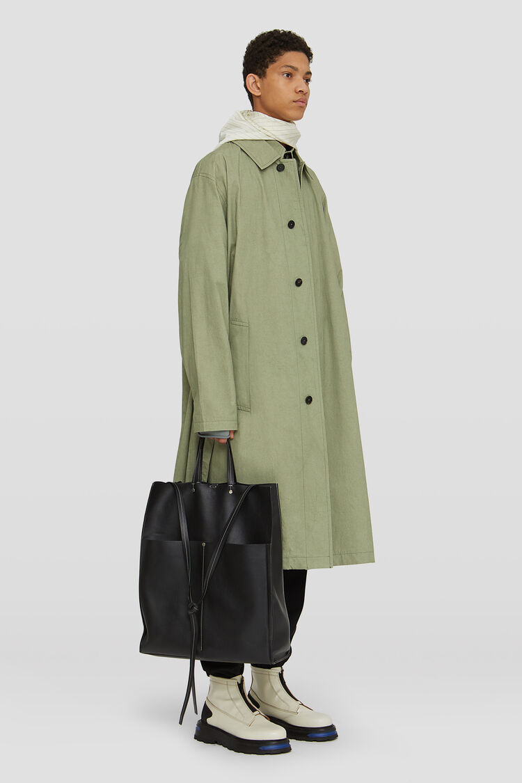 Coat, green, large