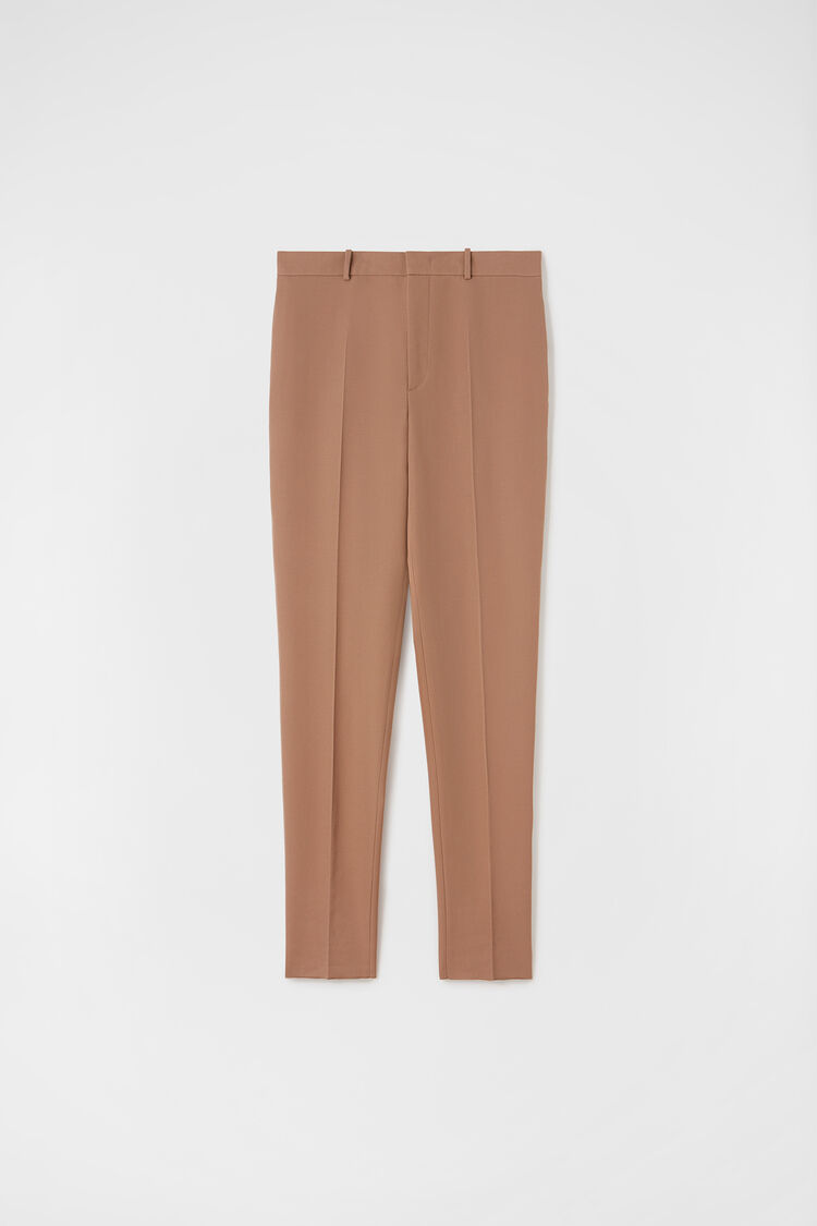 Trousers, dark pink, large