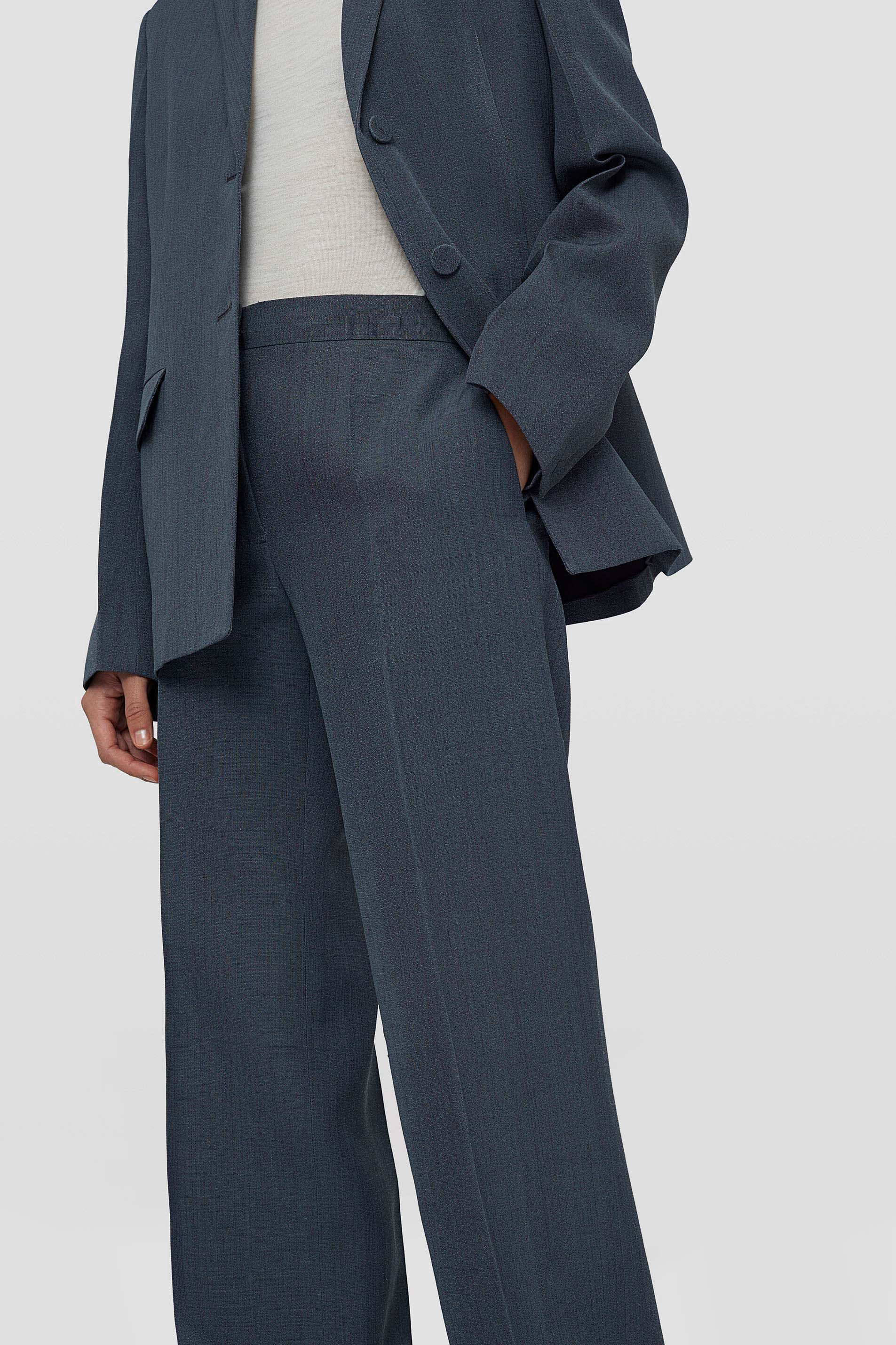 Trousers, dark grey, large
