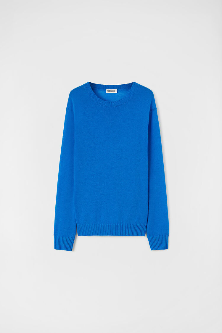 Sweater, blue, large