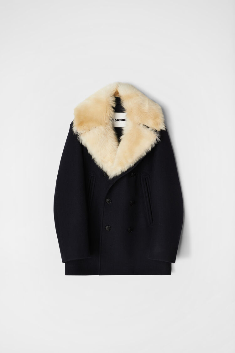 Jacket, dark blue, large