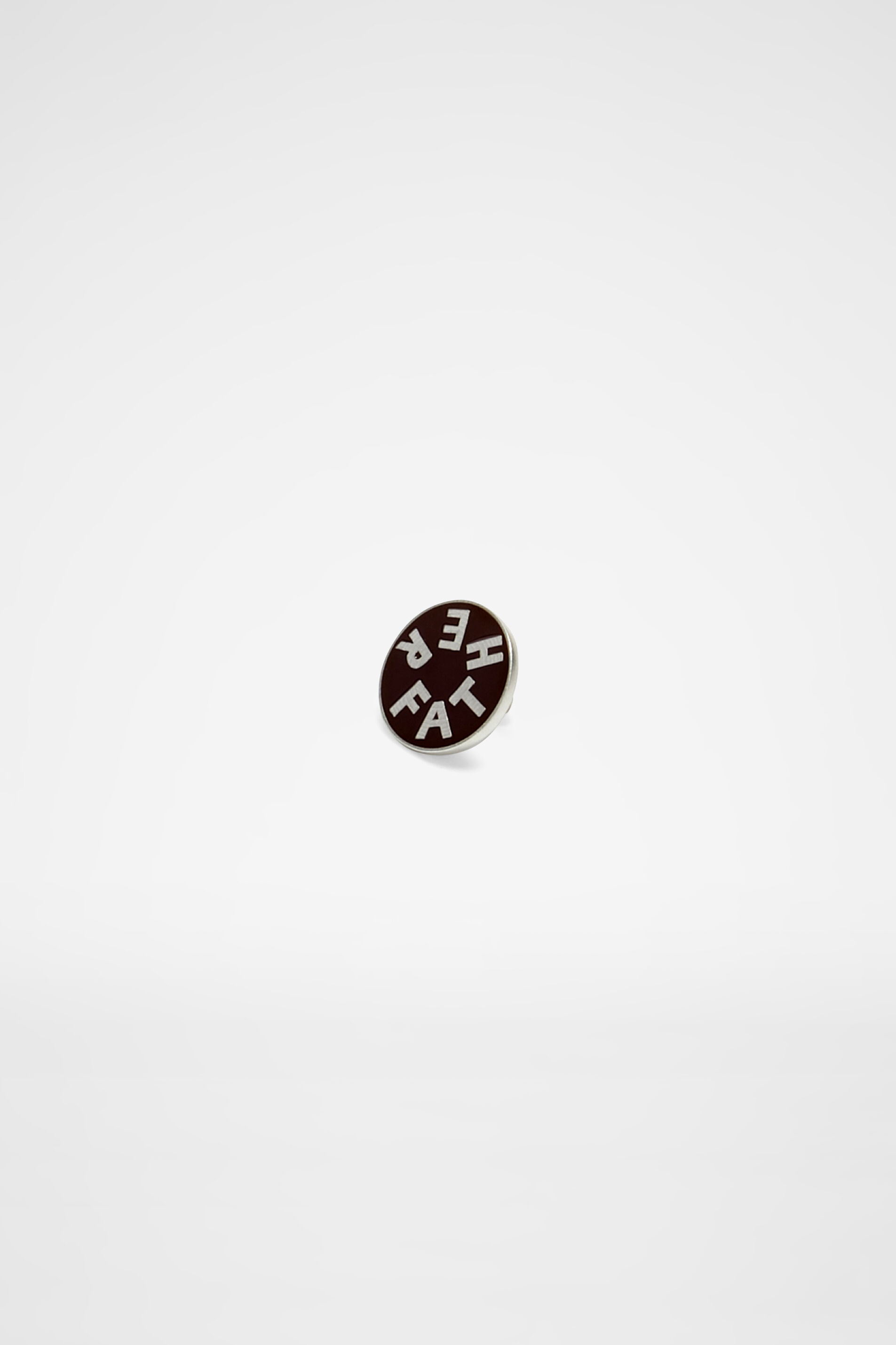 Pin Father, dark brown, large