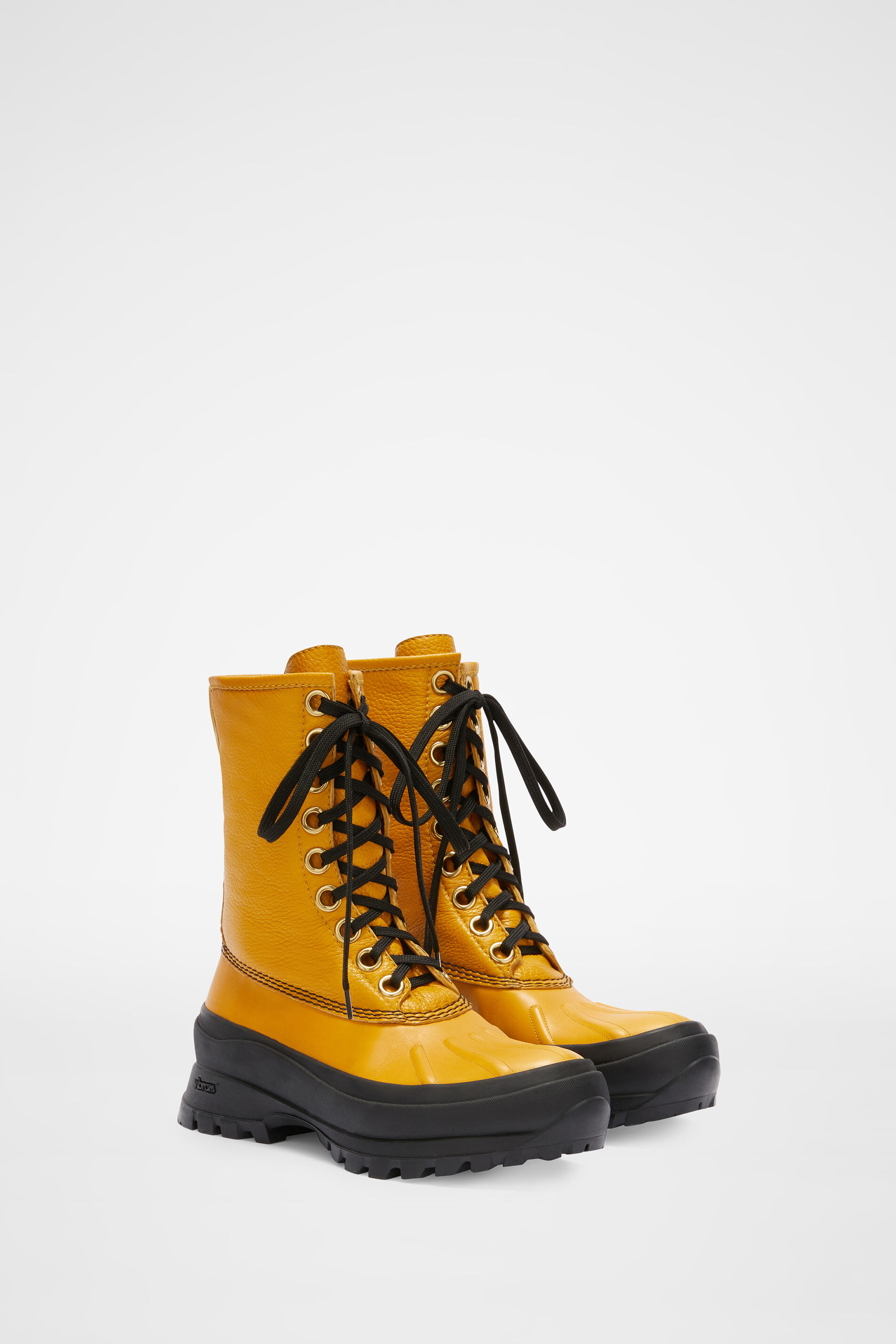 Hiking Boots, gold, large