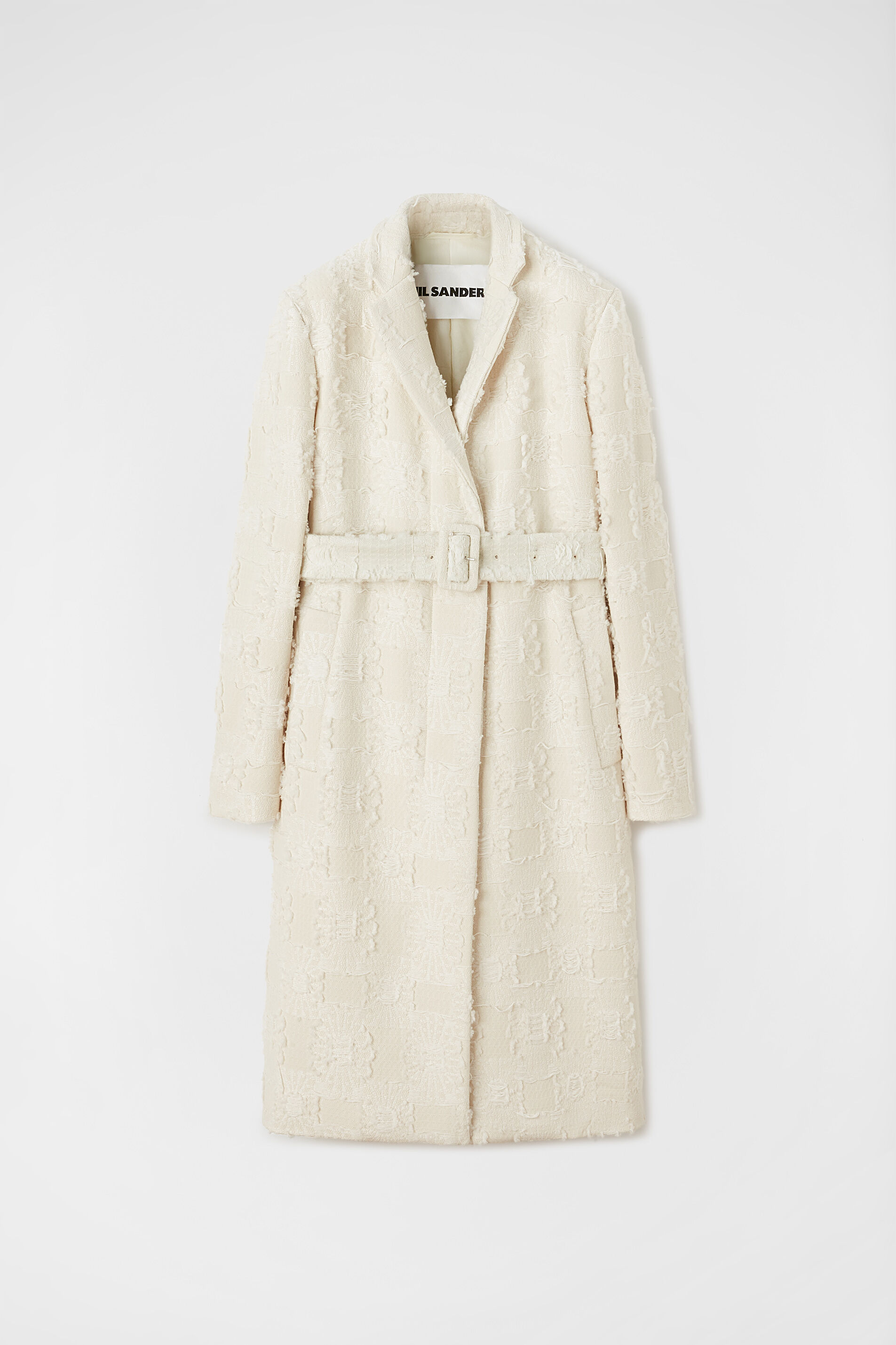 Padded Coat, beige, large