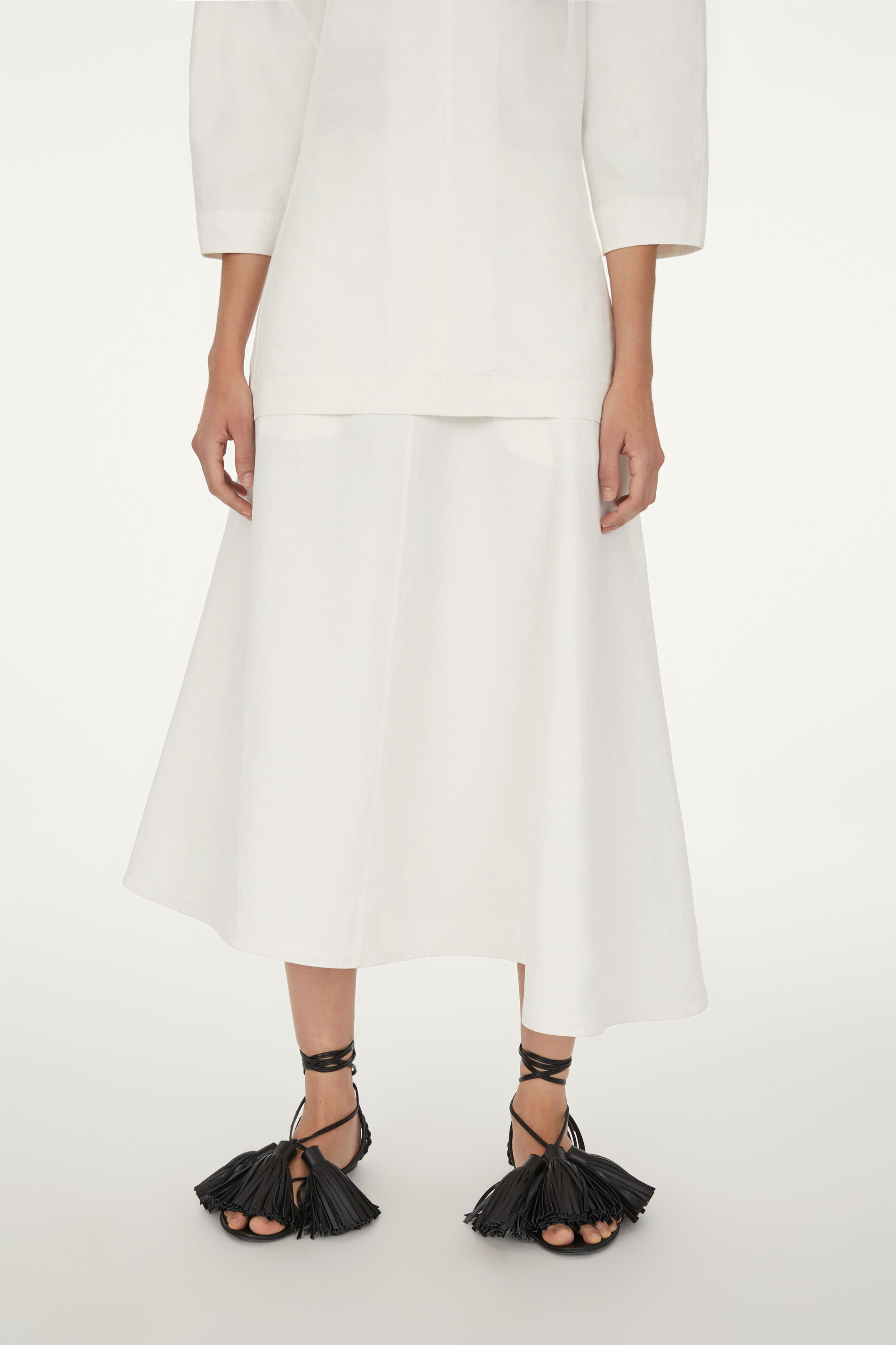 Asymmetrical Skirt, natural, large