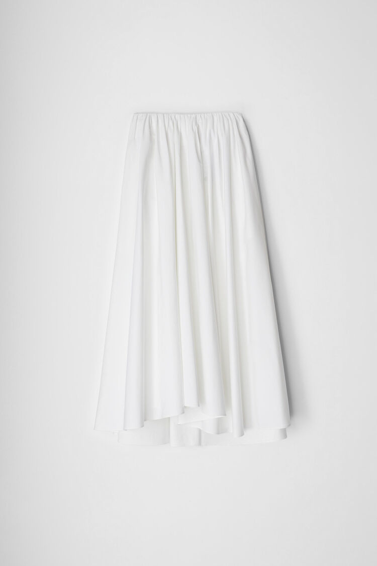 Skirt, white, large
