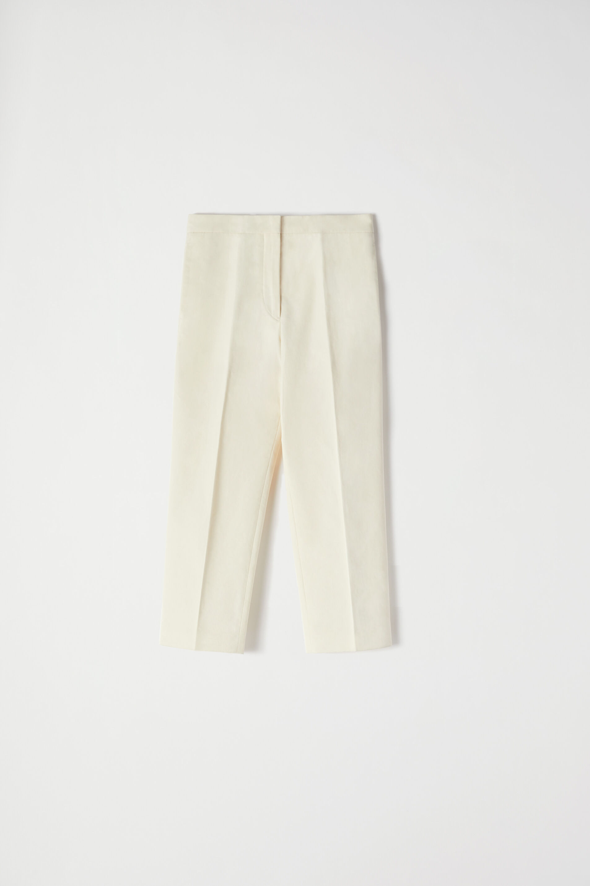Cropped Trousers, beige, large