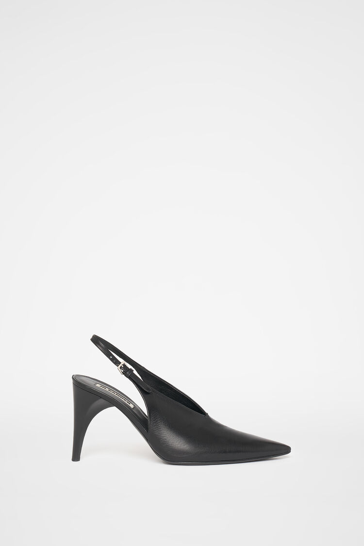Pumps, black, large