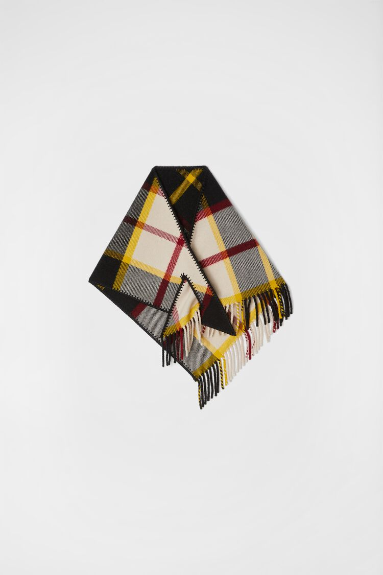 Scarf, multicolour, large