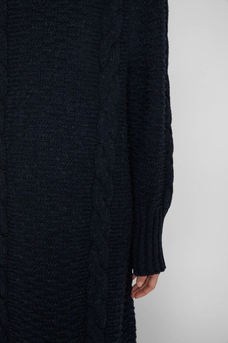 Sweater Dress, dark blue, large