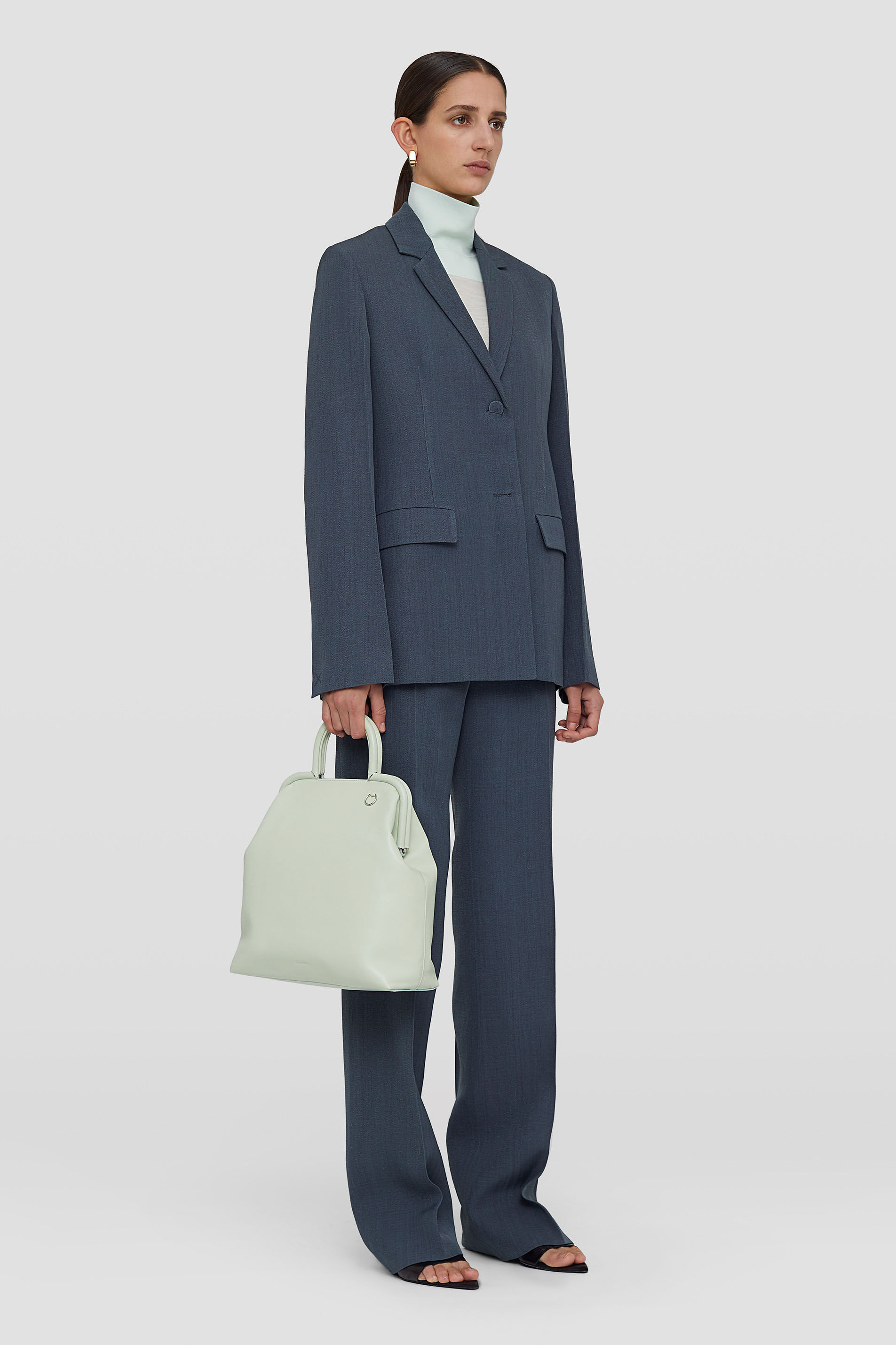 Handbag Large, pastel green, large