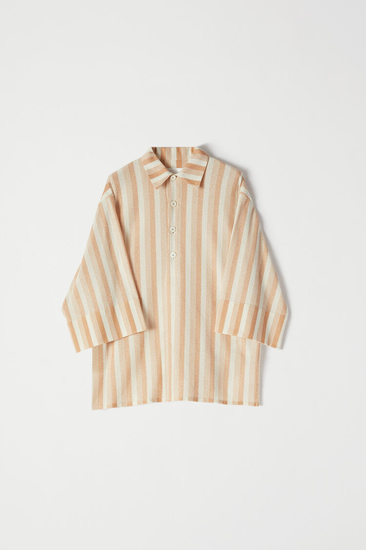 Polo, beige, large