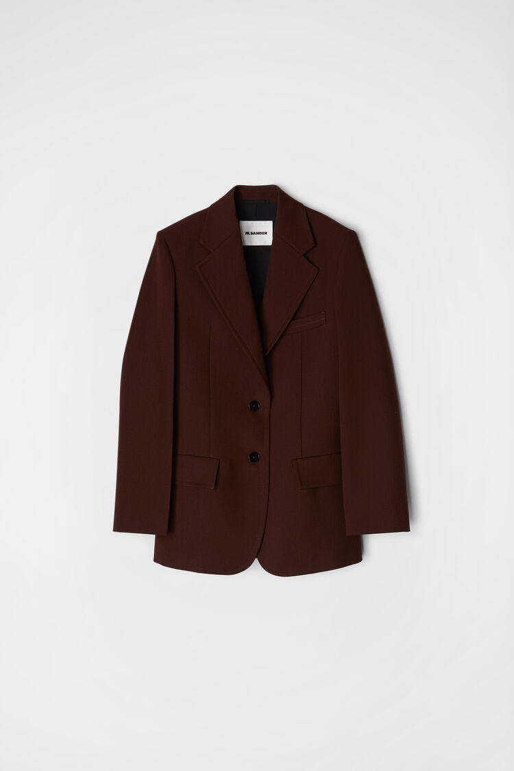 Tailored Jacket, dark brown, large