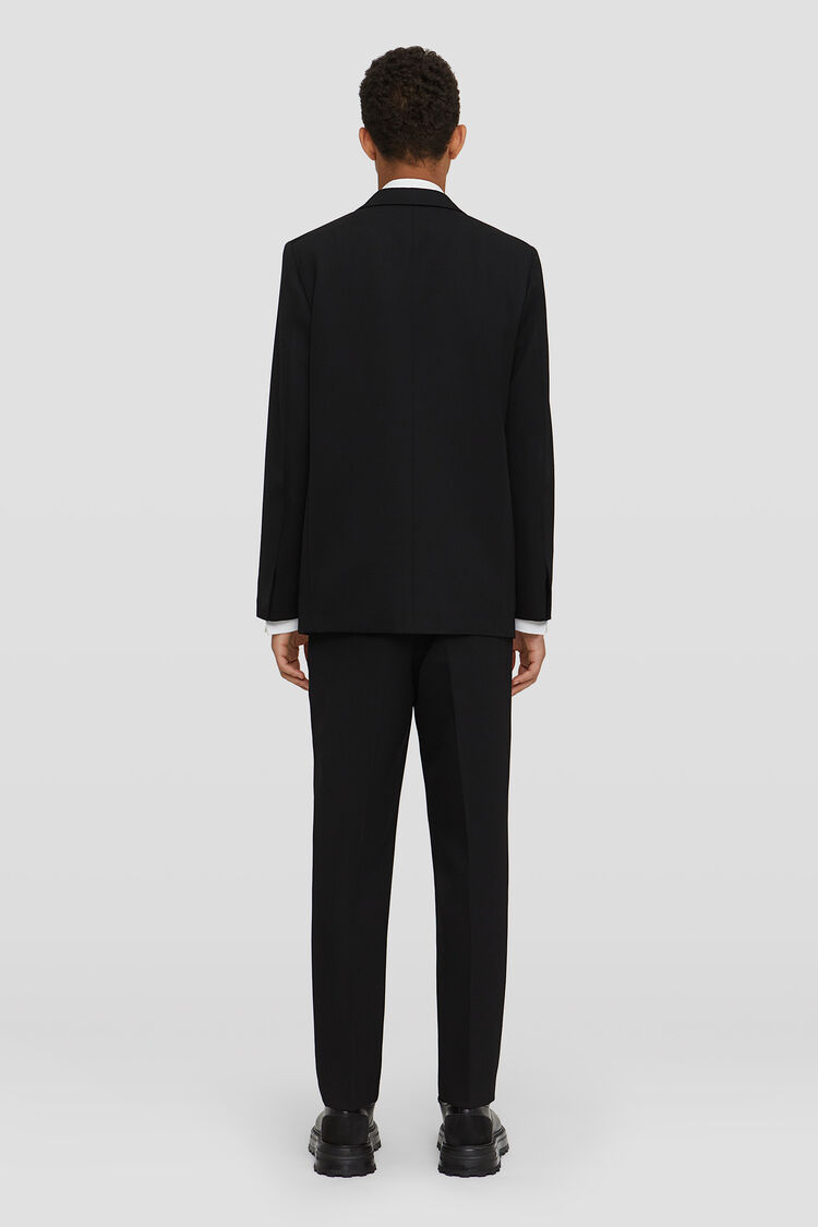 Suit, black, large