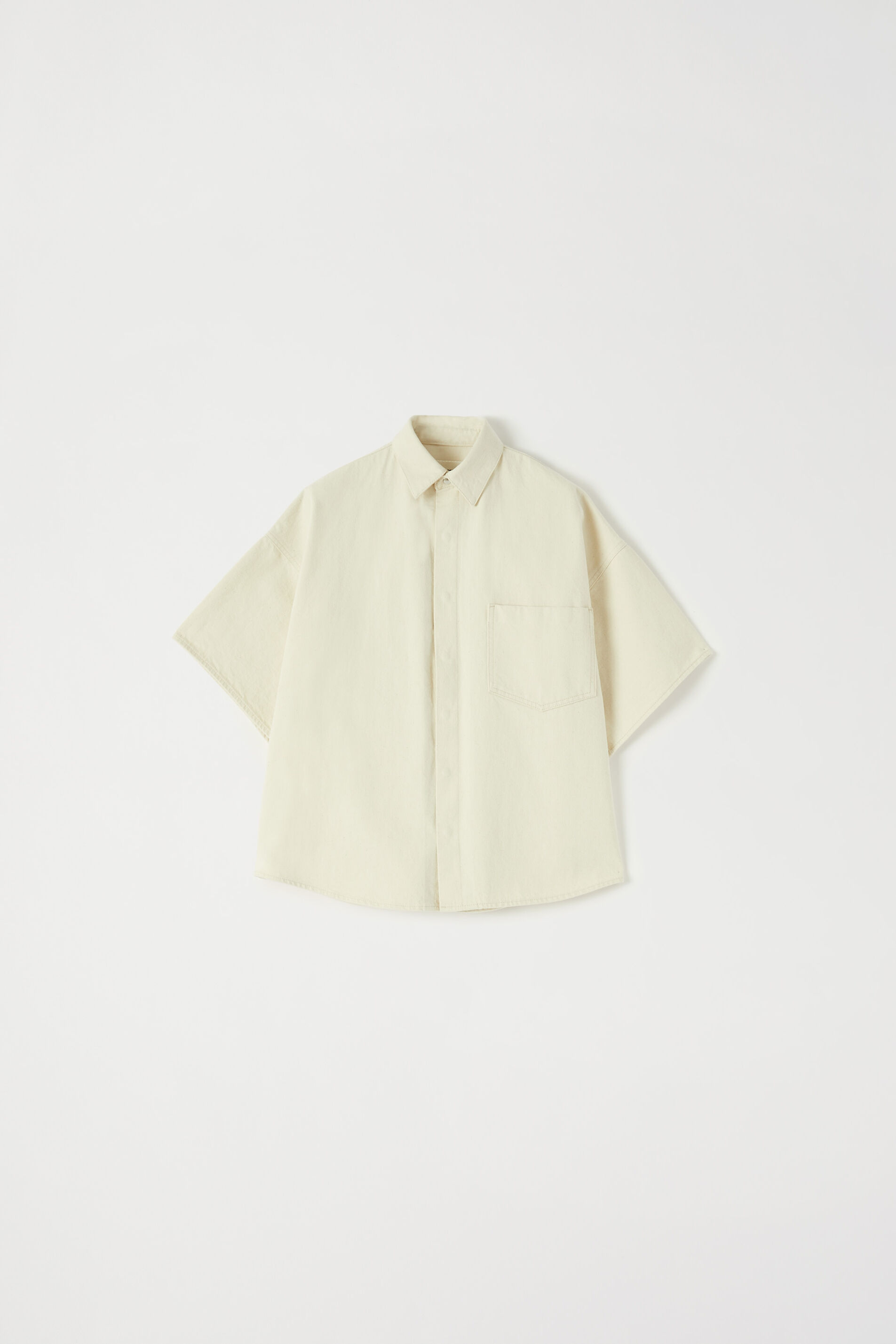Shirt, beige, large