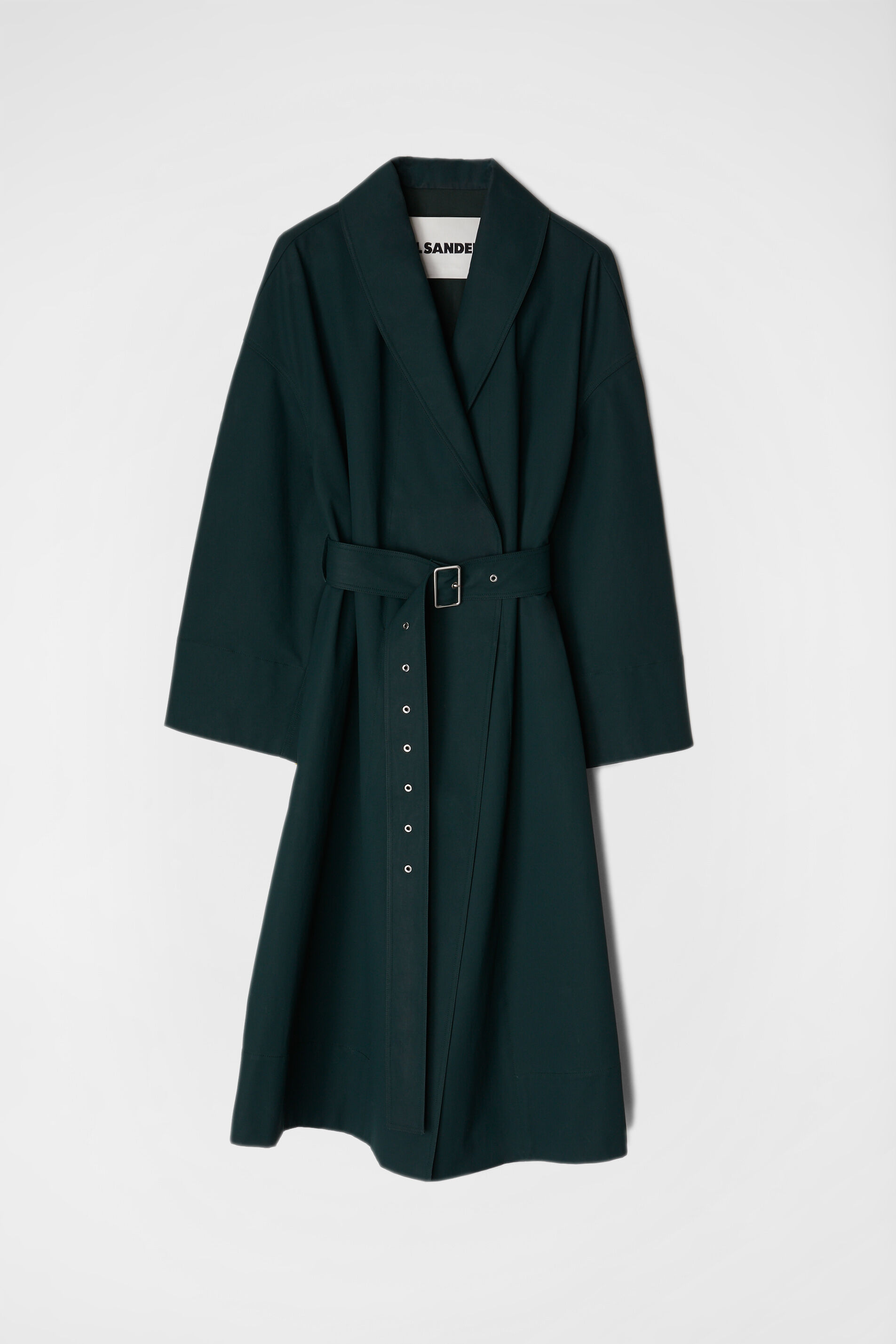 Coat, dark green, large