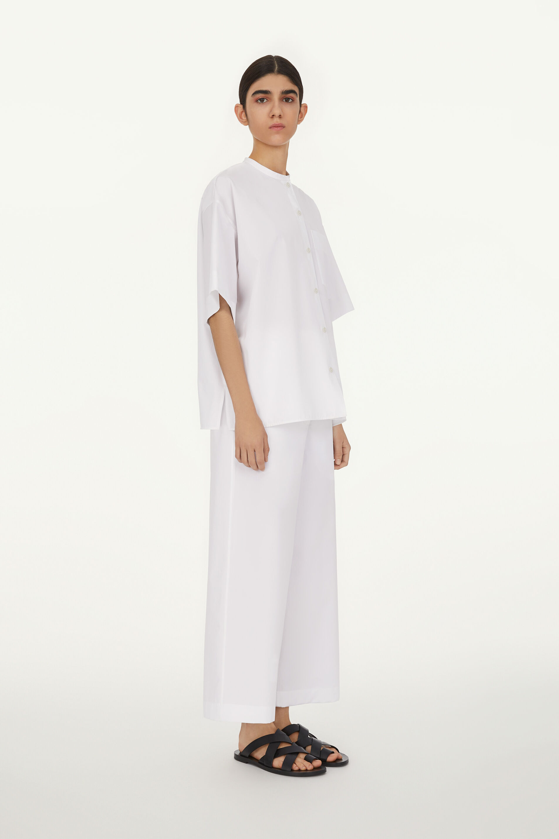 Pyjama Set, white, large