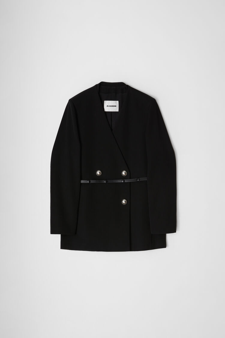 Jacket, black, large