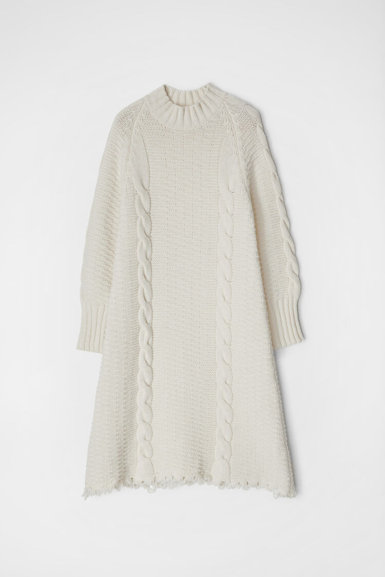 Sweater Dress, natural, large