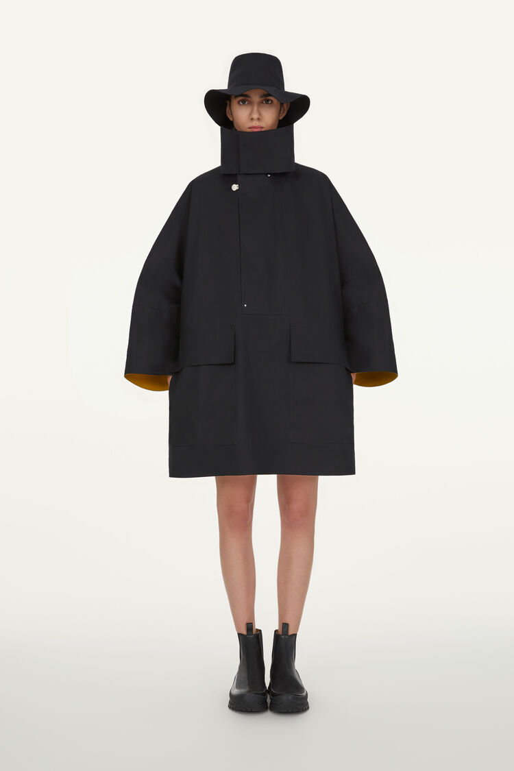 Mackintosh Anorak, black, large