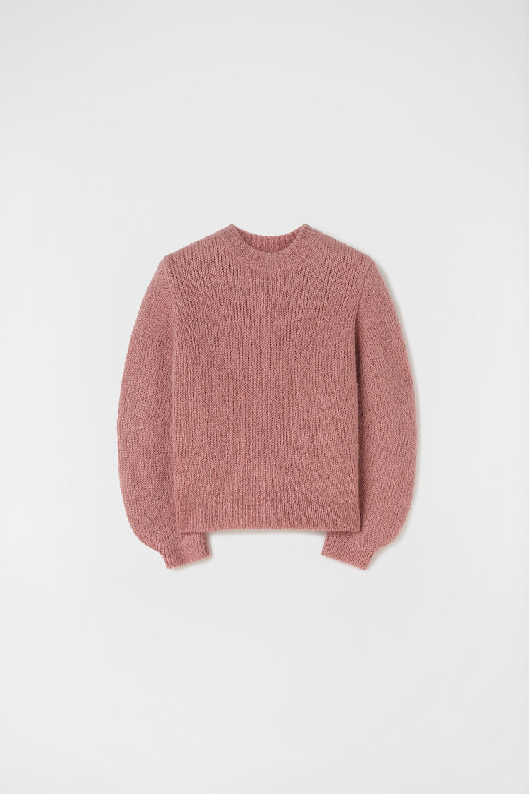 Chunky Sweater, pink, large