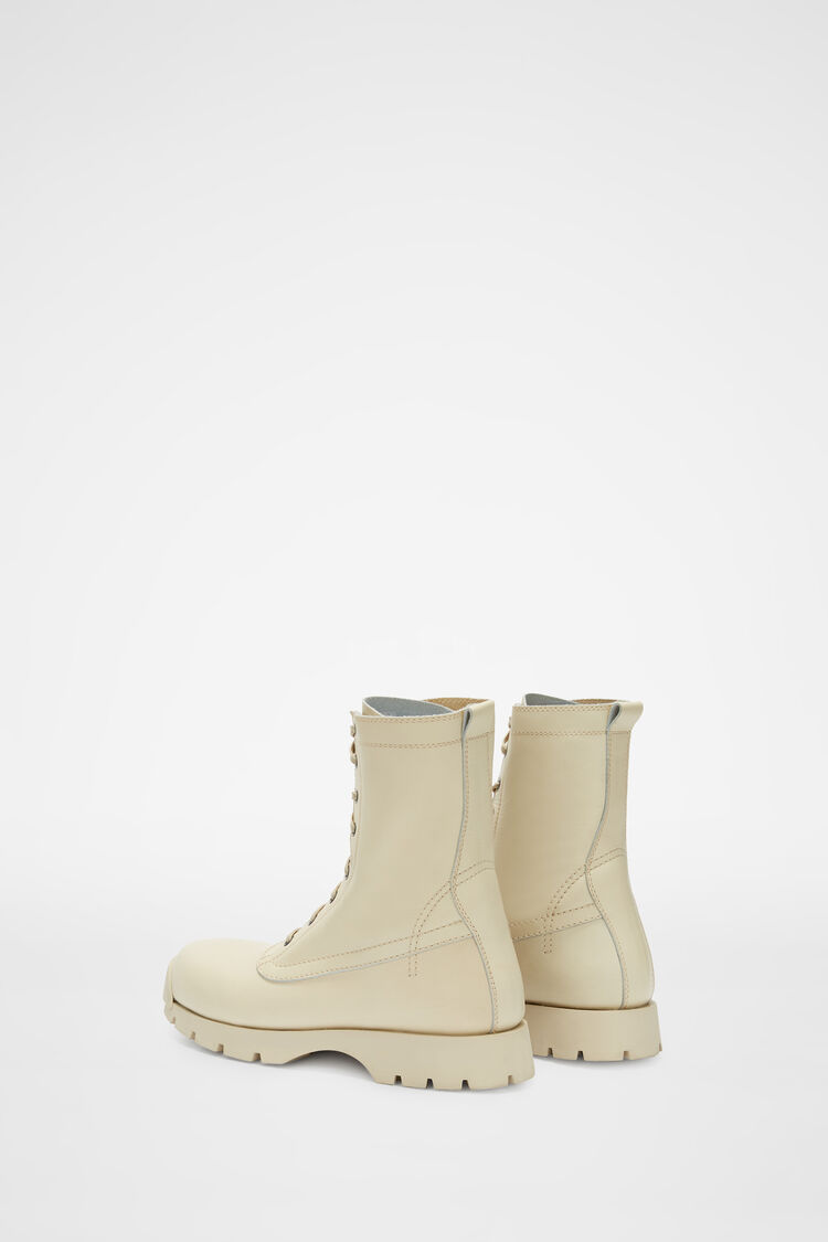 Lace-Up Boots, natural, large