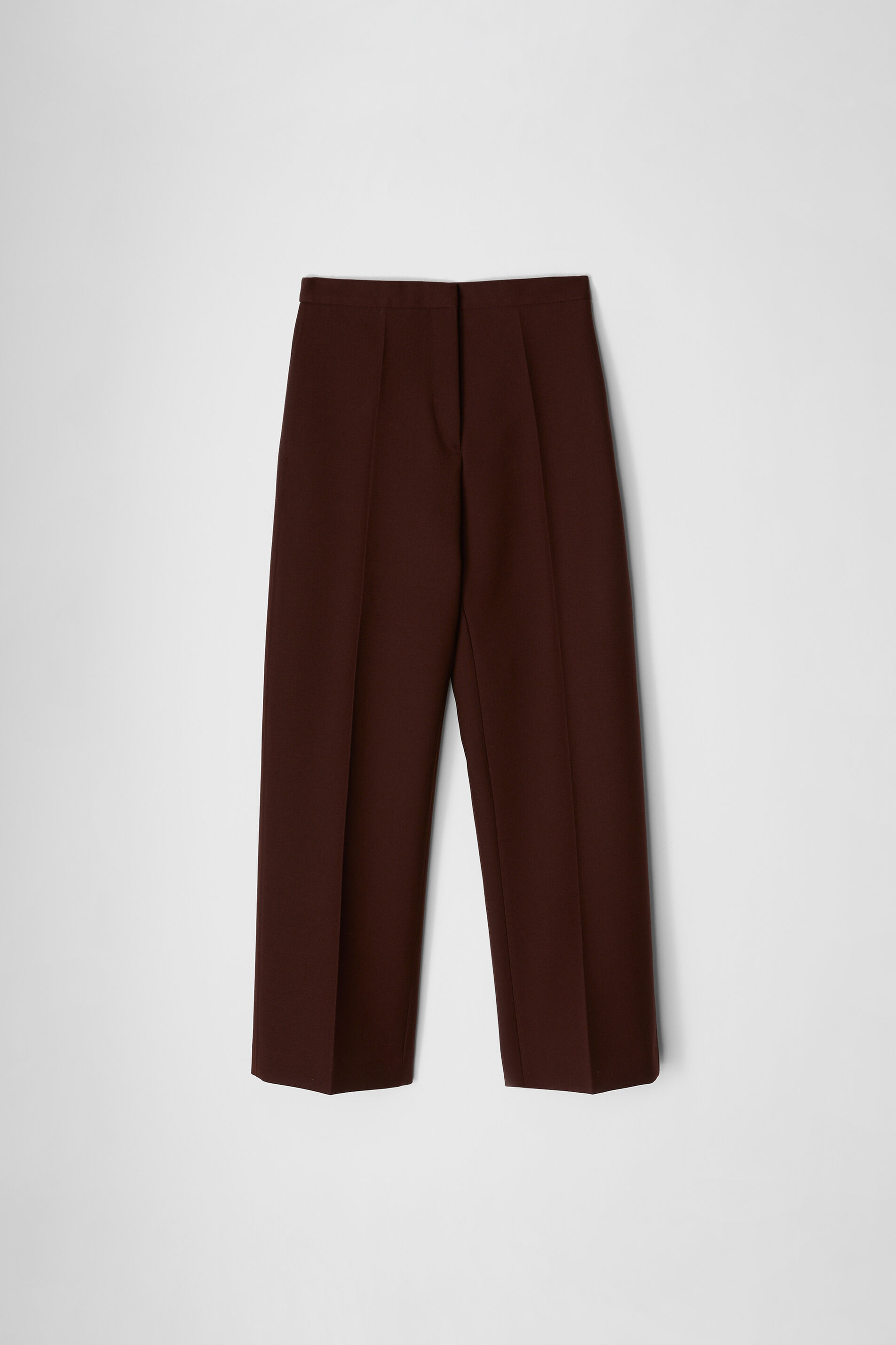 Tailored Trousers, dark brown, large